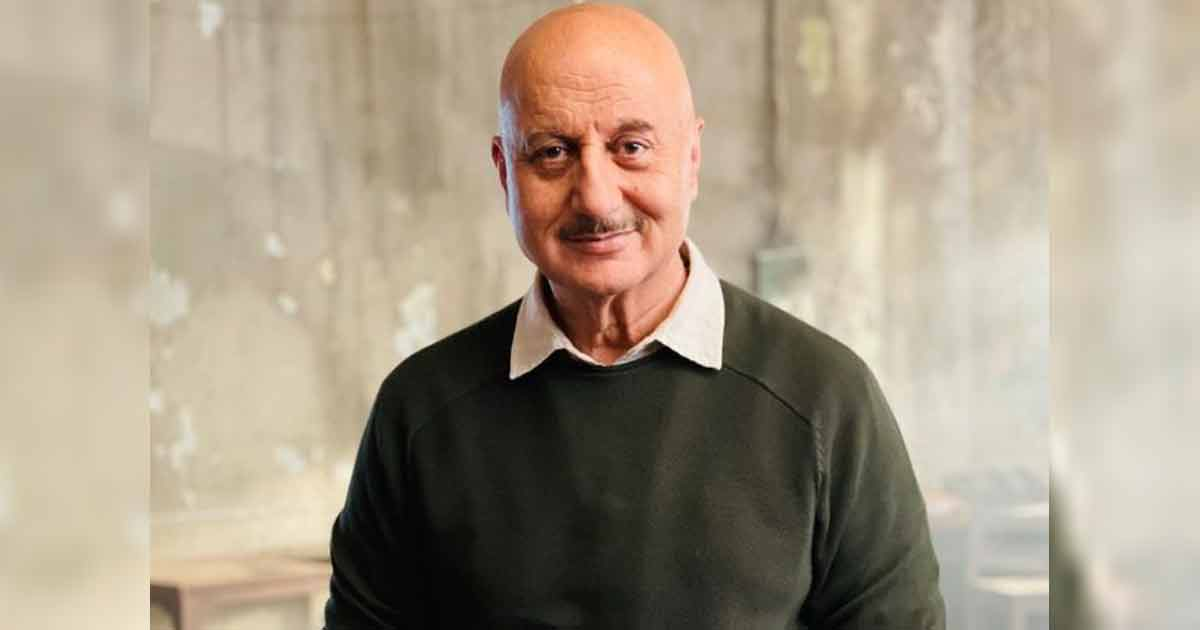 """Anupam Kher On Being Able To Survive In The Industry: """"I Am Tough On Myself"""""""