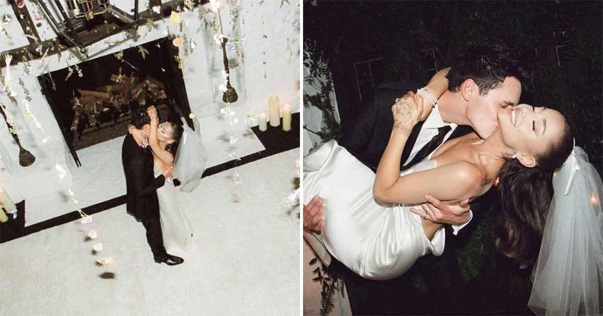 Ariana Grande & Dalton Gomez's Wedding Pictures Are Here & She Looks Like The Perfect Bride!