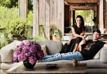 Ashton Kutcher & Mila Kunis' Beverly Hills Home Is The Perfect Blend Of Rustic Farmhouse With A Modern Twist – See Pics