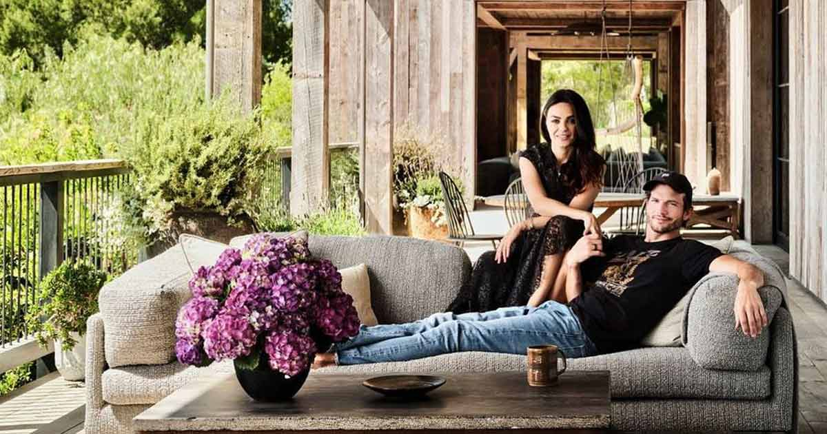 From A Barn To A Farm & Even A Barbecue Pavilion, Ashton Kutcher & Mila Kunis' Beverly Hills Home Is Perfect – Take A Look At Some Pics Here