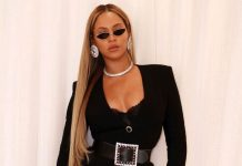 Beyonce slays in all-black ensemble