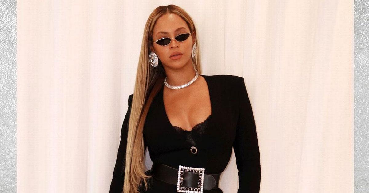 Beyonce slays in all-black ensemble