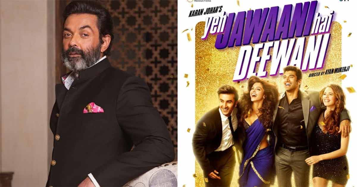 Bobby Deol Rejected To Play This Role In Yeh Jawaani Hai Deewani