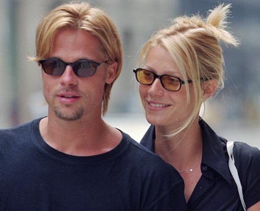 Brad Pitt & Gwyneth Paltrow Snapped Strolling In New York City In 1996