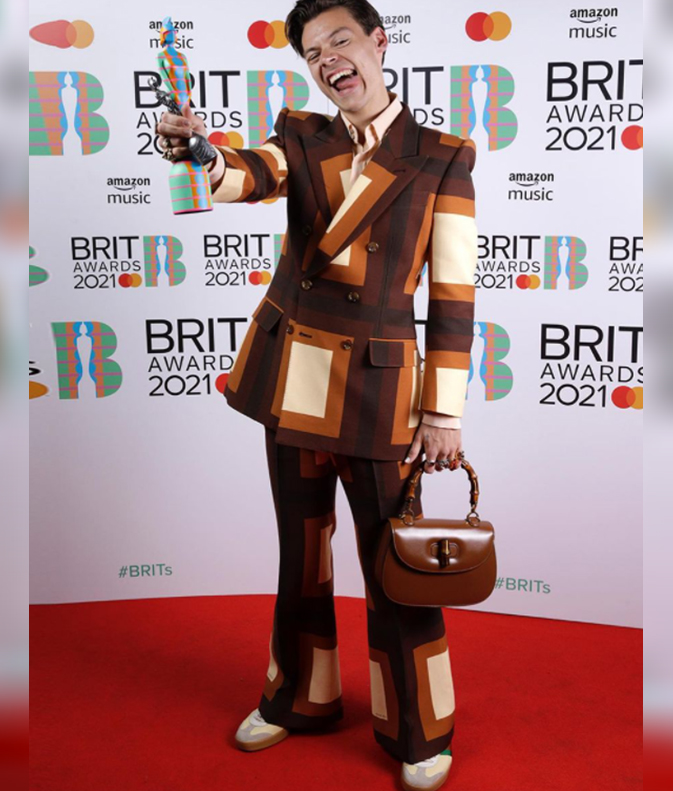 Harry Styles At The Brit Awards 2021