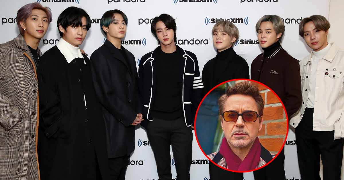 BTS' V Fails To Recognize Robert Downey Jr & His Bandmates' Reactions Are Hard To Miss!