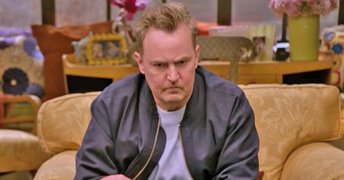 Chandler AKA Matthew Perry's Slurred Speech In FRIENDS Reunion Trailer Was Due To Dental Work?