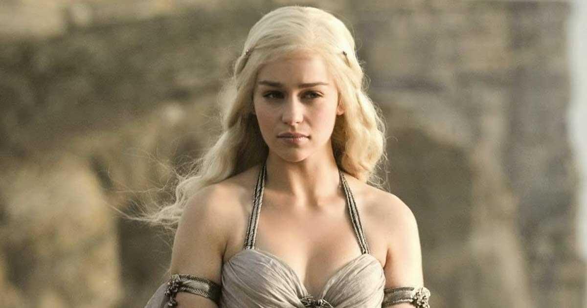 Daenerys Targaryen In A Still From Game Of Thrones