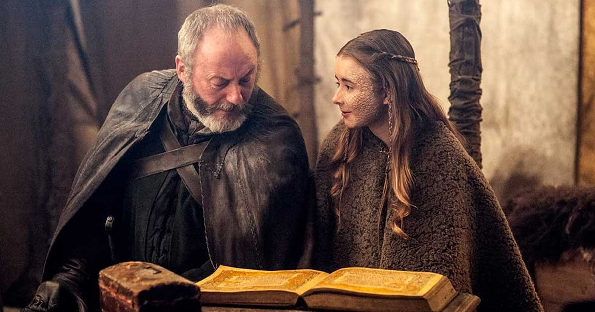 Davos Seaworth In A Still From Game Of Thrones