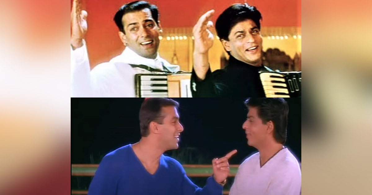 Shah Rukh Khan's Cameo In Salman Khan's Har Dil Jo Pyar Karega Linked With Kuch Kuch Hota Hai In This Crazy Fan Theory!