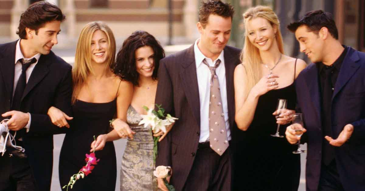 The Cast Of Friends Had A 'No Hooking Up' Rule
