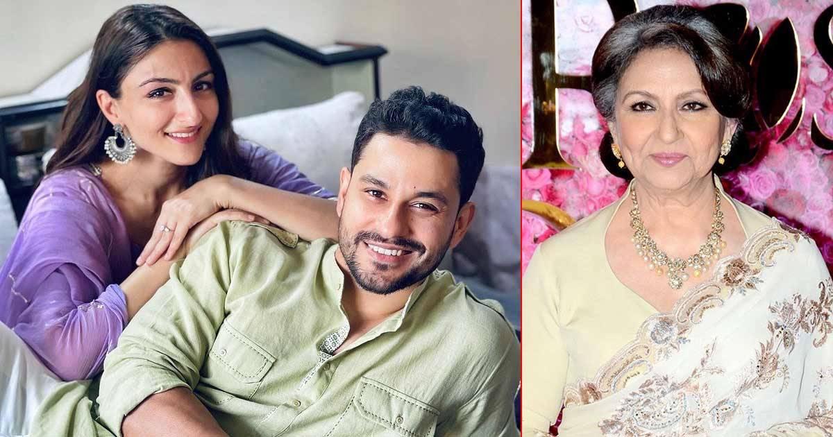 Did You Know? Kunal Kemmu's Meeting With Soha Ali Khan's Mom, Sharmila Tagore, Took Place With Him In A Bathrobe