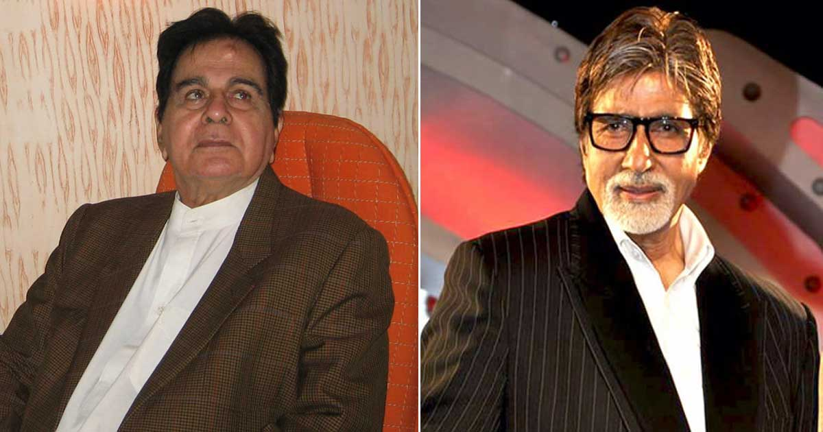 Did You Know? Dilip Kumar Was All Set To Direct Amitabh Bachchan In A Drama Set In The Kashmir Valley In The '90s