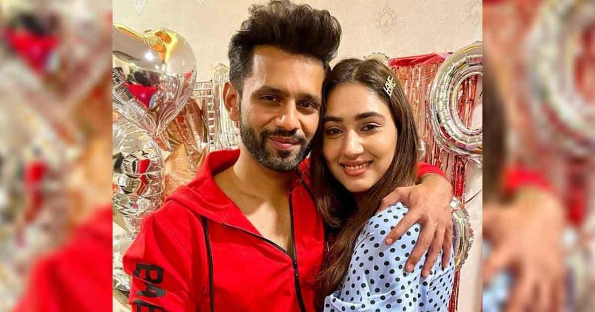 Rahul Vaidya Receives A Parting Gift From Lady Love Disha Parmar Before He Leaves For Khatron Ke Khiladi 11 Shoot