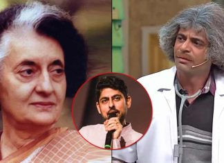 Does Sunil Grover Looks Like Indira Gandhi? Varun Grover Feels So!