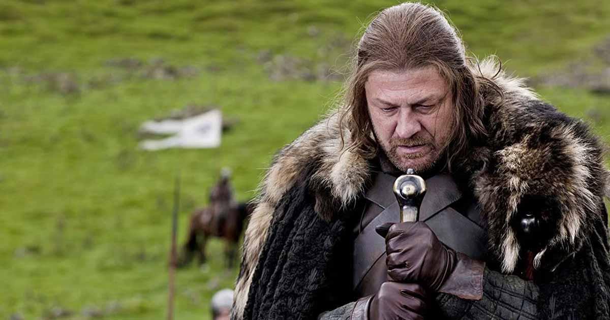 Eddard Stark In A Still From GoT