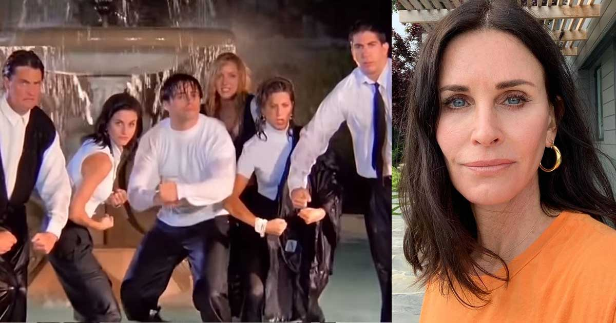 Courteney Cox Doesn't Have Fond Memories Of The Iconic Fountain Scene; Says Filming Special Was 'So Emotional'