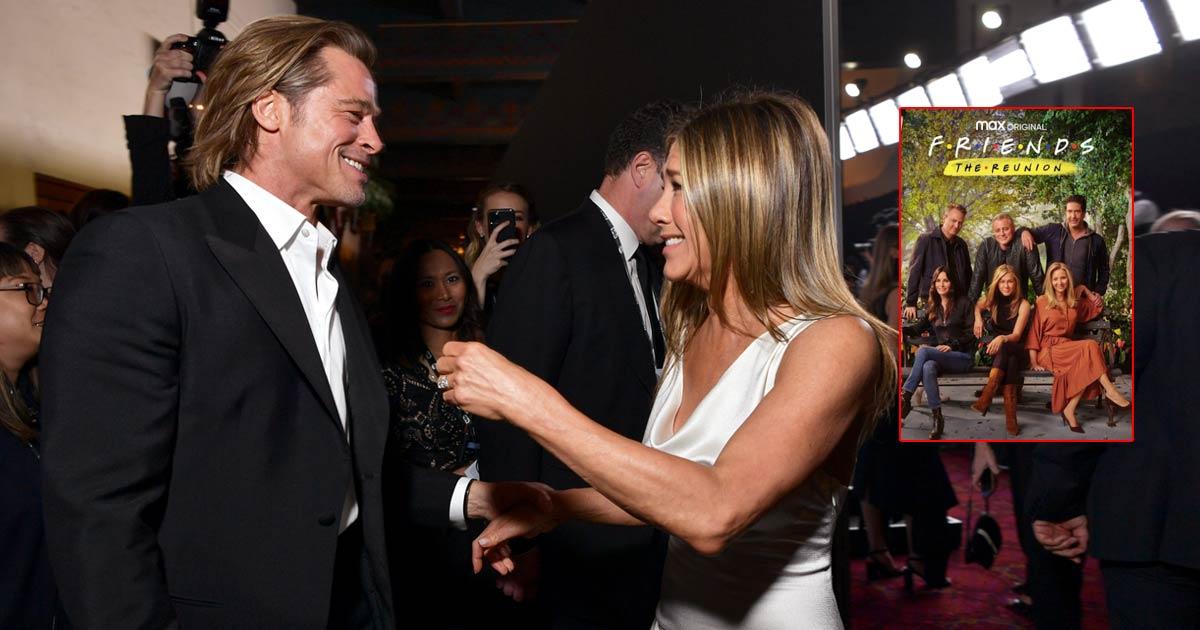Friends Reunion Star Jennifer Aniston Names Brad Pitt The Best Cameo
