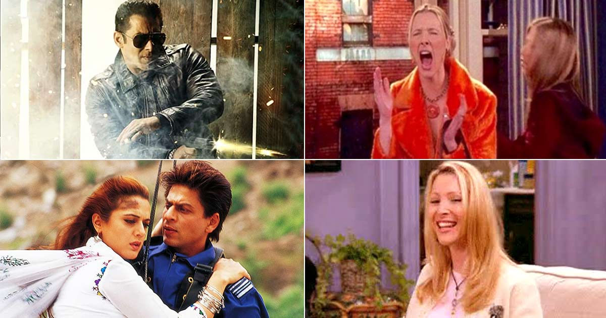 """FRIENDS: """"He's Her Lobster"""" For Veer Zaara To """"My Eyes, My Eyes"""" For Radhe - Reviewing Bollywood Movies Using The Show's Iconic Quotes"""
