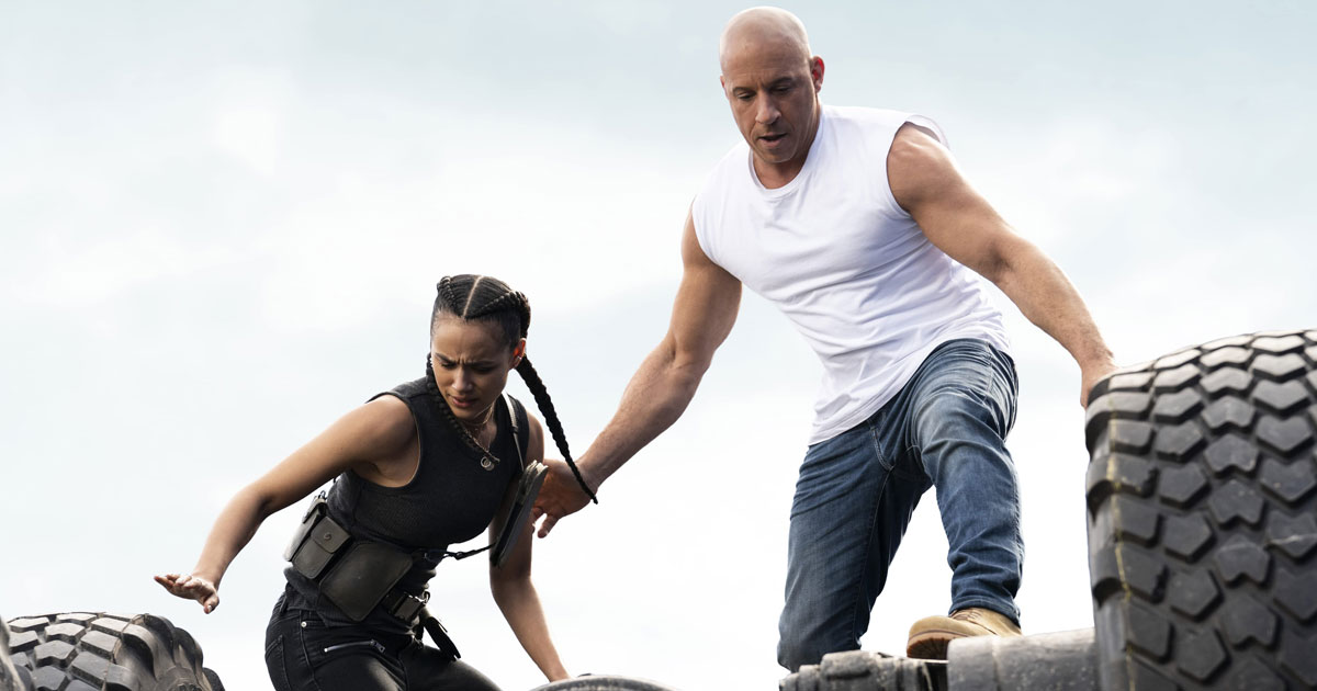 F9 Explosive Video! Vin Diesel & Team Get Into The 'Car-nage' Mode