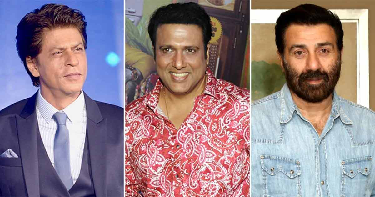 Govinda Could Have Been Part Of Much-Loved Films Like These Shah Rukh Khan & Sunny Deol Blockbusters – Here's Why It Didn't Happen