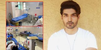 Gurmeet Choudhary opens makeshift Covid hospital in Nagpur
