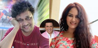 'Happu Singh' Yogesh Tripathi reminds co-star Kamna Pathak of Govinda