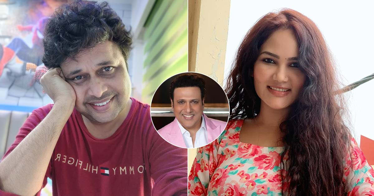 'Happu Singh' Yogesh Tripathi reminds co-star Kamna Pathak of Govinda