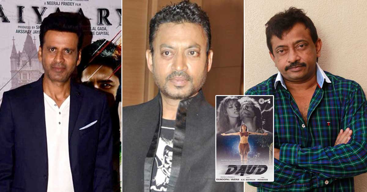 Ram Gopal Varma Contradicts Manoj Bajpayee & Reveals Never Approaching Irrfan Khan For A Side Role In 'Daud'