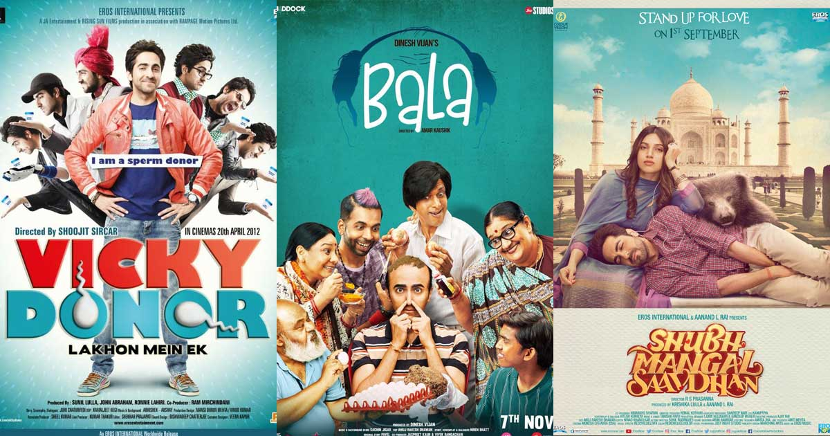 Indian movies that dare to break the mold by normalising conversation around issues related to Men!