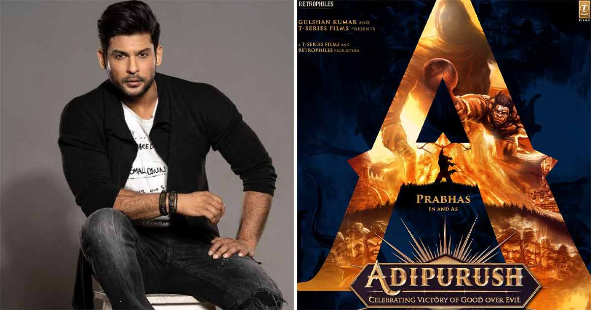 Adipurush: Sidharth Shukla On Playing Meghnad In Prabhas-Saif Ali Khan's Adipurush