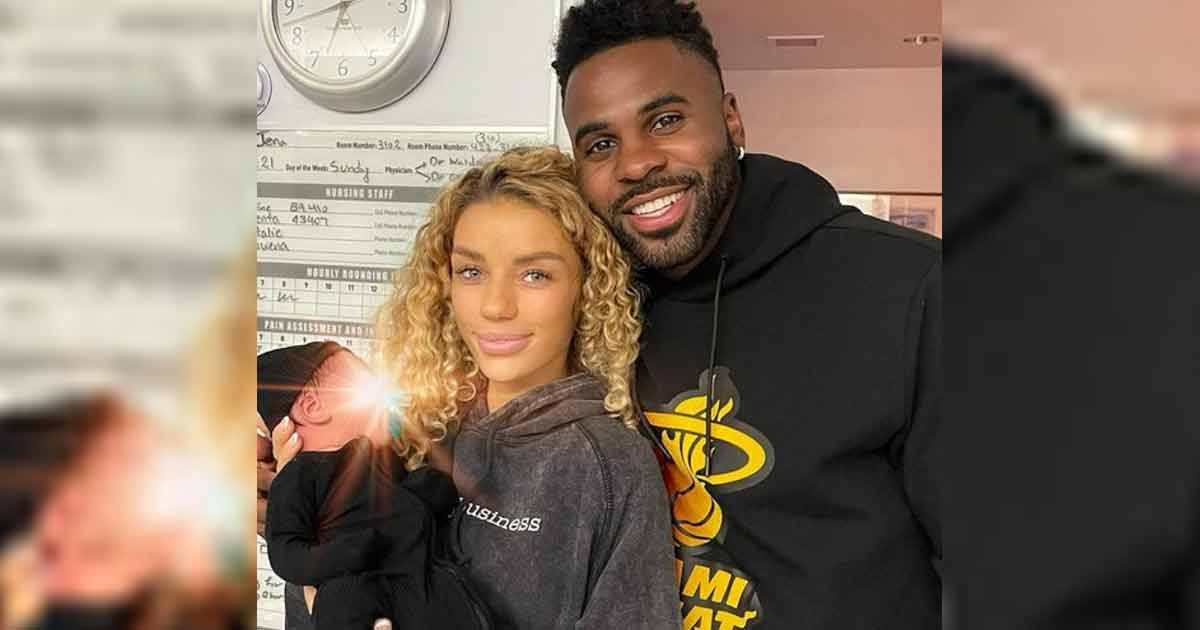 """Jason Derulo & Girlfriend Jena Frumes Welcome Their """"Little King;"""" Share A Couple Of Pics Too"""