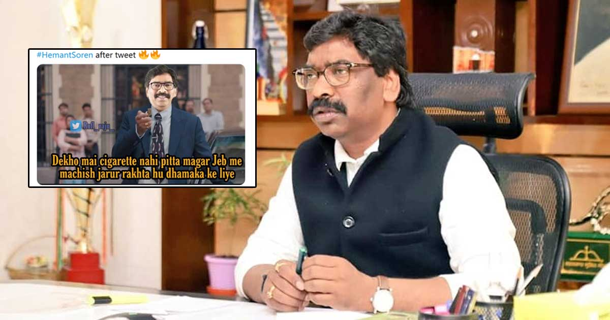 Jharkhand CM Hemant Soren Memes Ft. Scam 1992 & Much More