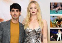 Joe Jonas & Sophie Turner Share Unseen Pictures From Las Vegan Wedding