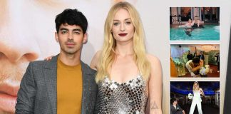 Joe Jonas & Sophie Turner Share Unseen Pictures From Las Vegan Wedding
