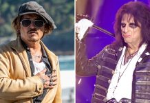 Johnny Depp Backed By Band Mate Alice Cooper