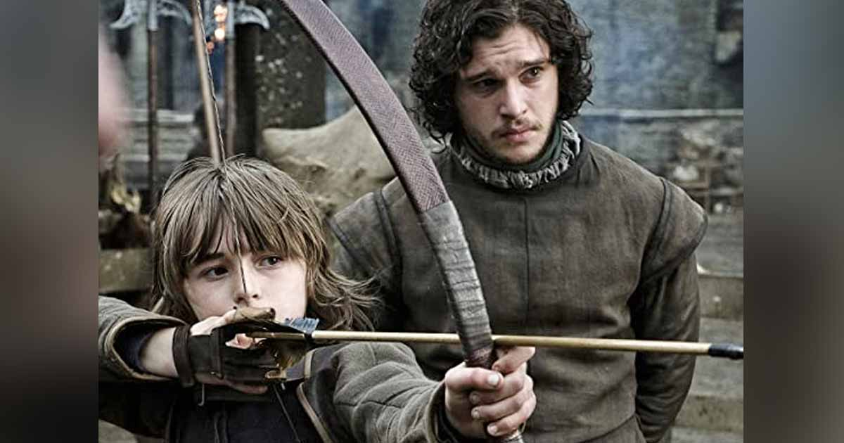 Jon Snow In A Still From Game Of Thrones
