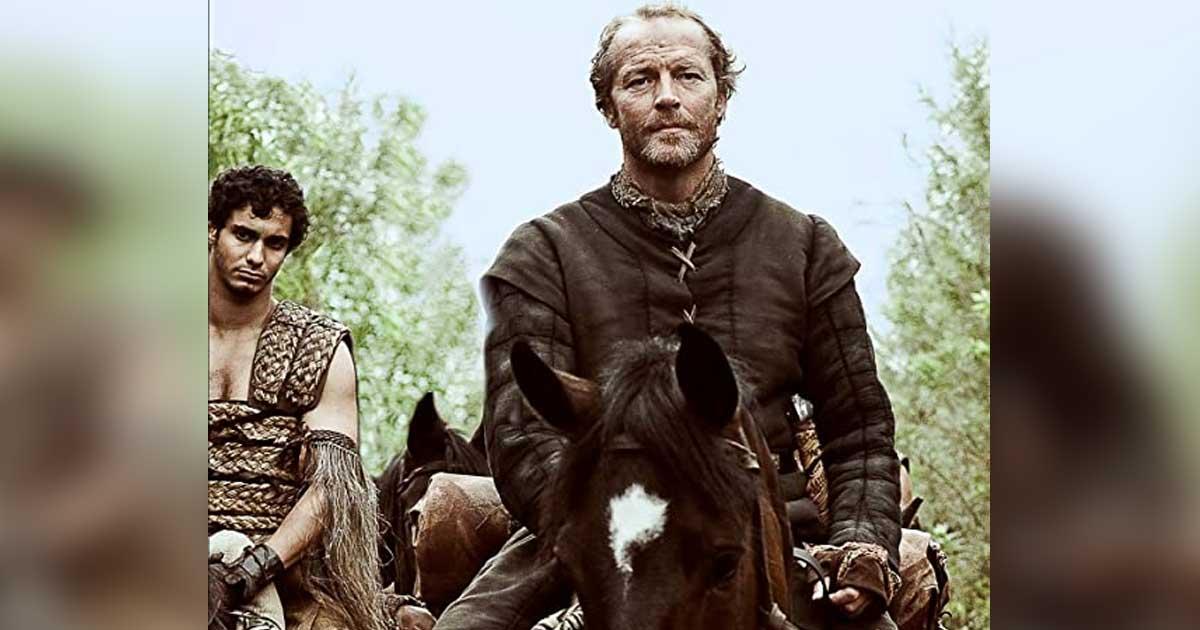 Jorah Mormont In A Still From GoT