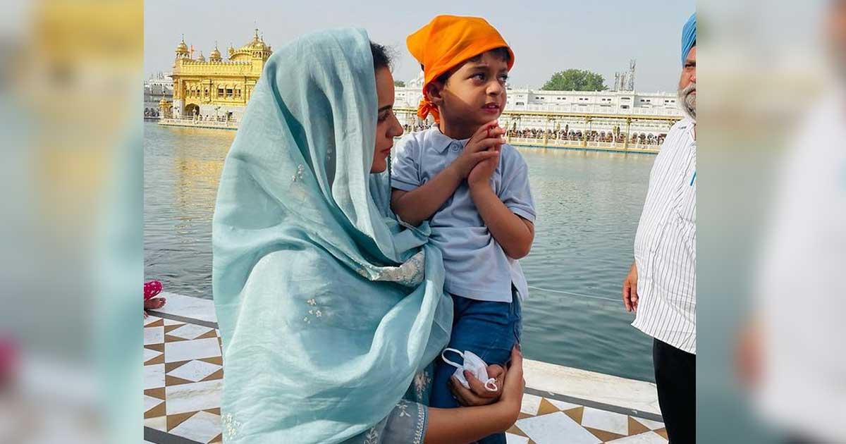 Kangana Ranaut Share Mesmerising Pics From Golden Temple Having A Gala Time In Amritsar, Read On