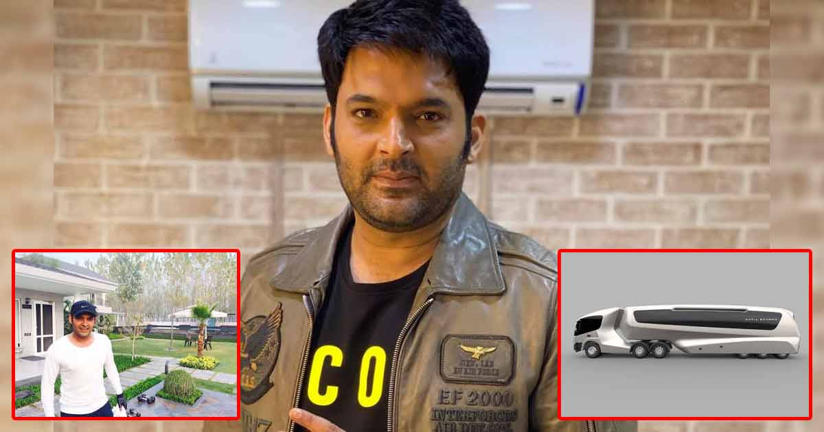 From A 5 Crore Vanity Van To Farm House In Punjab: Take A Look At Kapil Sharma's Ridiculously Expensive Possessions