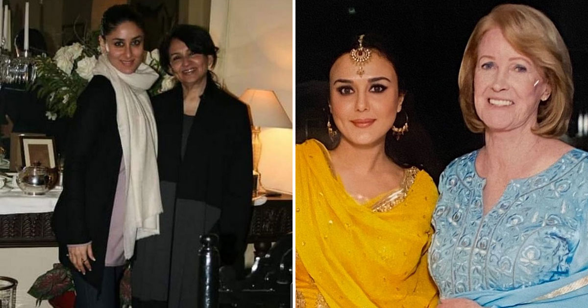 Kareena Kapoor Khan & Preity Zinta Share A Message For Mother-In-Law