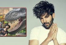 Kartik Aaryan's witty demo of how corona slides into 'unmasked faces'