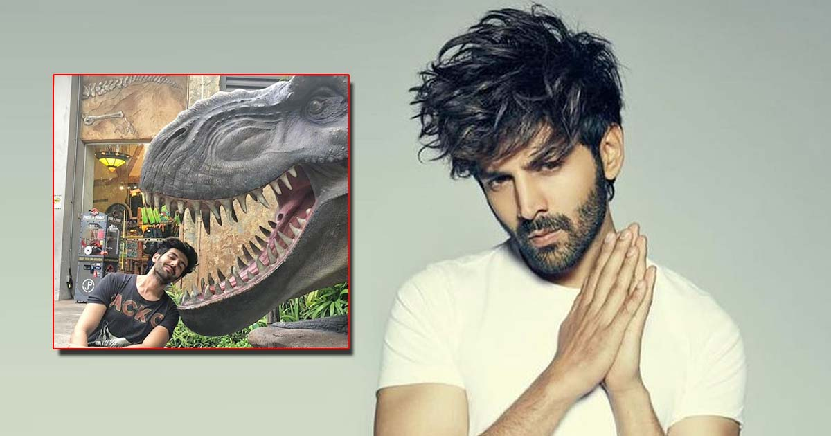 Kartik Aaryan shows witty demo of how corona slides into 'unmasked faces'
