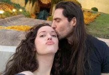 Kat Dennings posts a love-up pic with Andrew WK