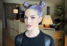Kelly Osbourne denies having had plastic surgery