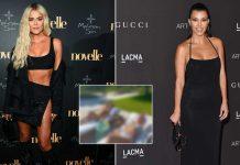 Kourtney and Khloe Kardashian sizzle in the sun