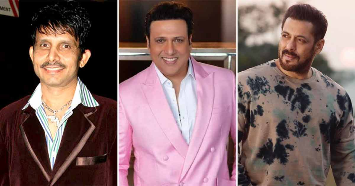 KRK's Old Tweets On Govinda Resurfaces As He Thanks The Actor For Support Amid Salman Khan Row