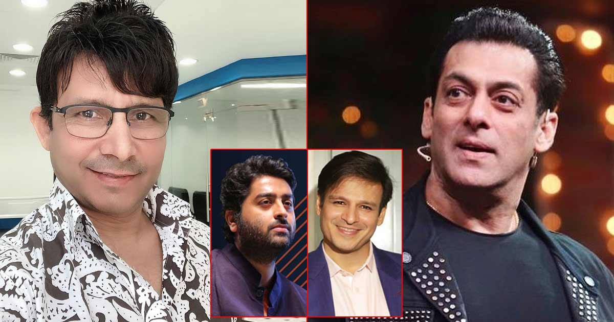 "KRK On Salman Khan Controversy: ""Vivek Oberoi, Arijit Singh Seedhe Ladke Hai, Lekin Iss Baar Galat Aadmi Se Panga Le Liya"" - Check Out"