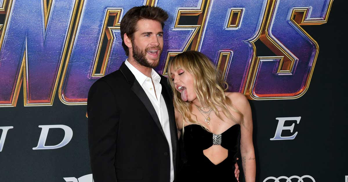 Liam Hemsworth Reportedly Behaved Rudely With Miley Cyrus After She Acted To Lick Him In Front Of The Media