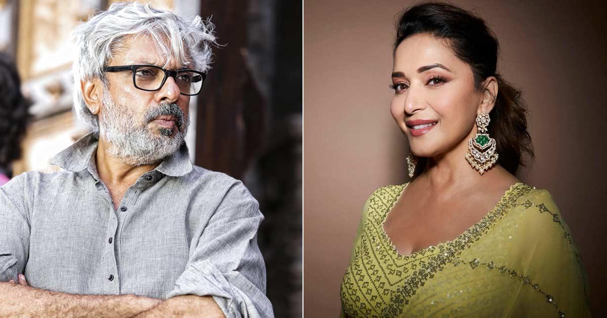 Madhuri Dixit Roped In For A Mujra In Sanjay Leela Bhansali's Heera Mandi?